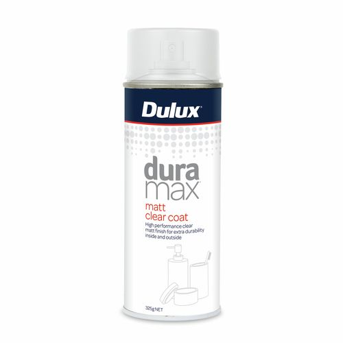 Dulux 352g Duramax Matt Clear Coat Spray Paint