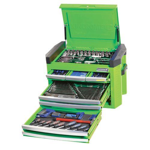 Kincrome 207 Piece Green Contour 8 Drawer Tool Kit