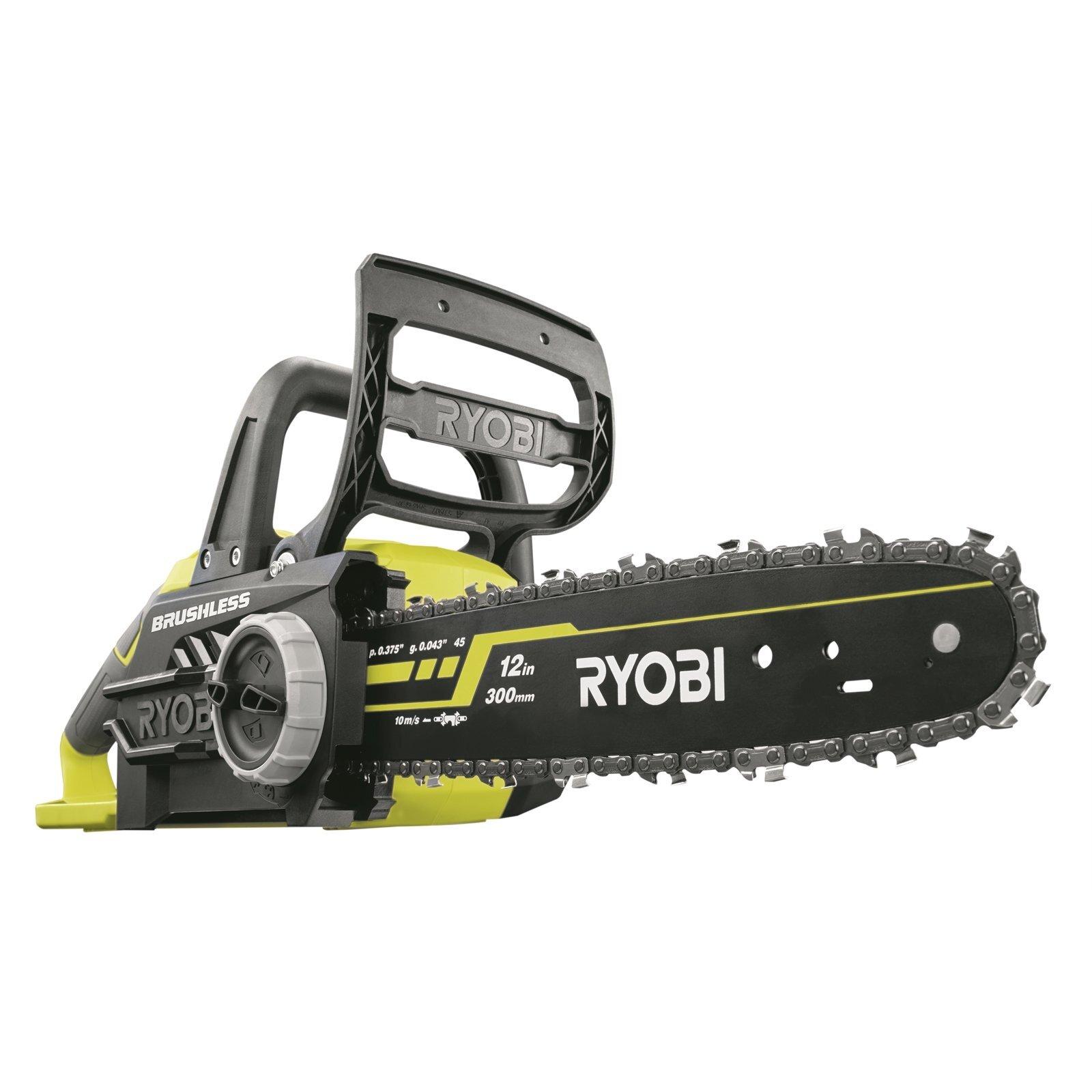 Ryobi 18V ONE+ 30cm Brushless Chainsaw Skin