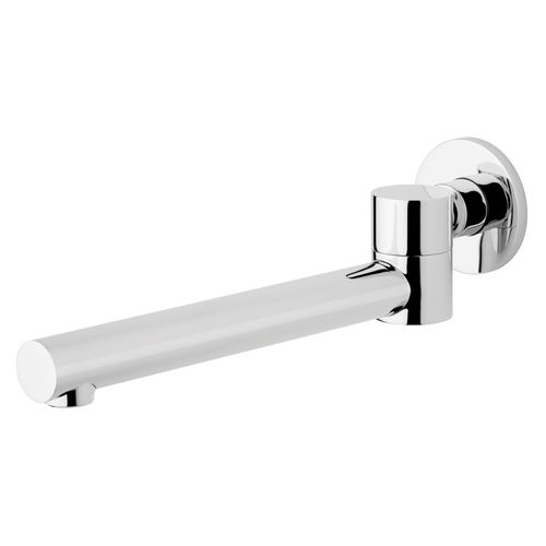Foreno Chrome Icon Swivel Bath Spout - Suits Main Pressure Only