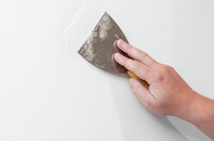 Patching a hole in the wall