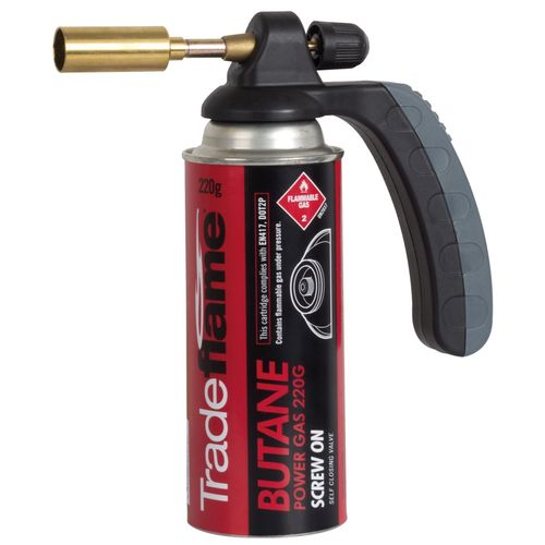Tradeflame 220g Handy Blow Torch Kit With Butane Gas