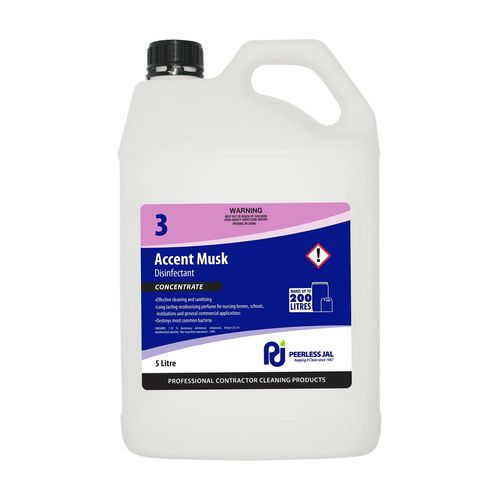 Peerless JAL 5L Accent Musk Disinfectant
