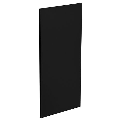 Kaboodle Black Olive Wall End Panel