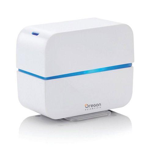 Oregon Scientific Travel USB LED Aroma Diffuser Aromatherapy Timer Cube White