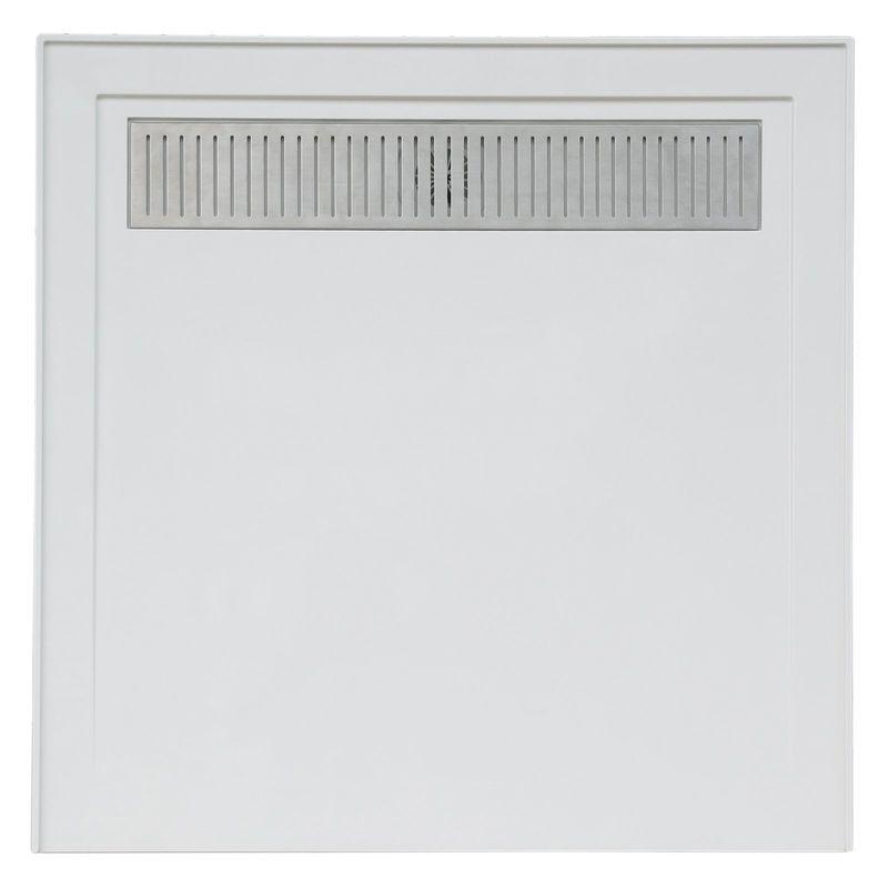 Concerto 900 x 900mm White Square Shower Base