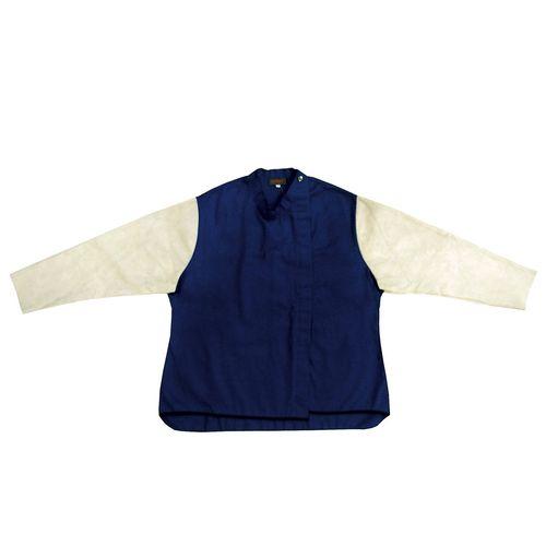Bossweld Medium FR40 Welder Jacket With Leather Sleeves