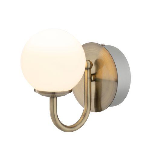 Verve Design 6W Brass Victoria Bathroom Vanity Light