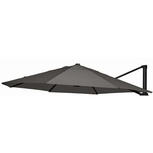 Mimosa 3m Charcoal Umbrella Spare Part Round Canopy - To Suit Koko