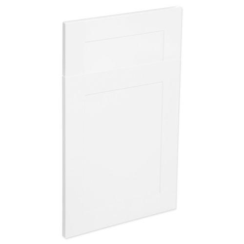 Kaboodle 450mm Alpine Premium Vinyl 1 Door / 1 Drawer Panel - Vanilla Essence
