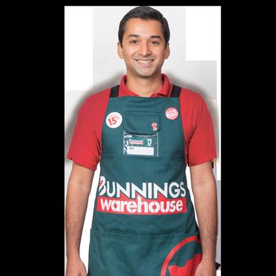Bunnings team member Mihir