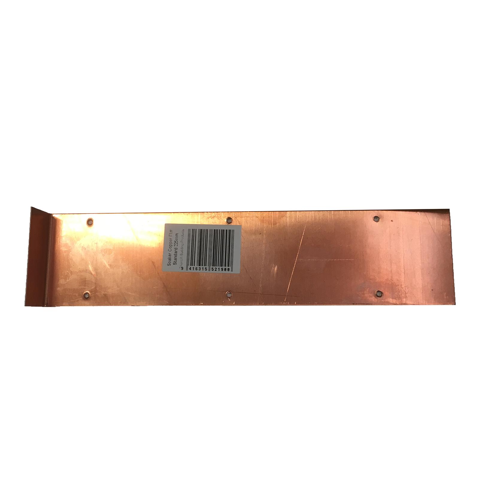 Triumph 250mm Standard Copper Flat Soaker