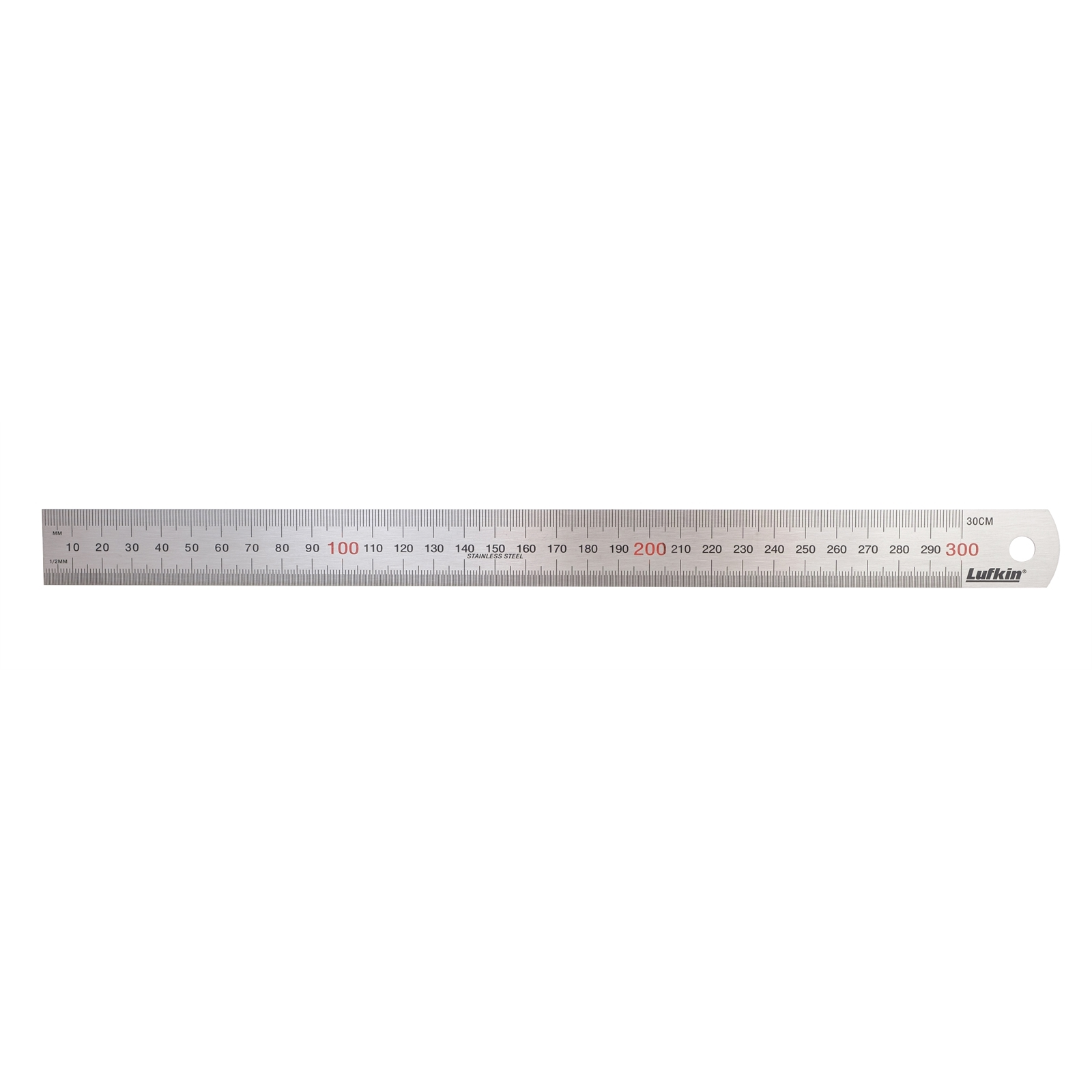 """Crescent Lufkin 300mm / 12"""" Stainless Steel Rule"""