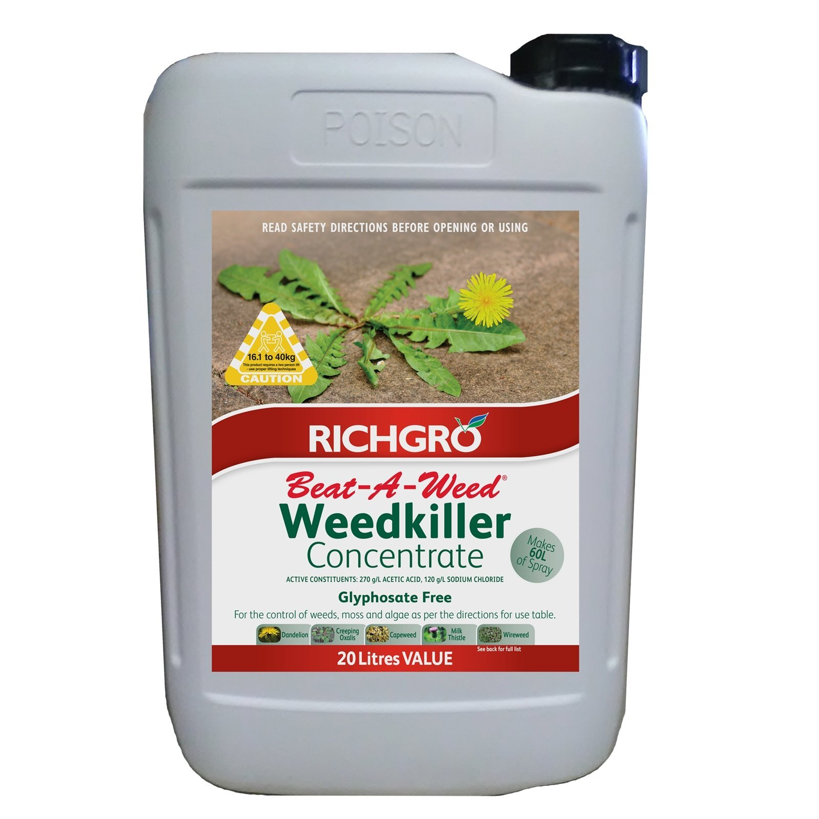 Richgro 20L Beat A Weed Concentrate