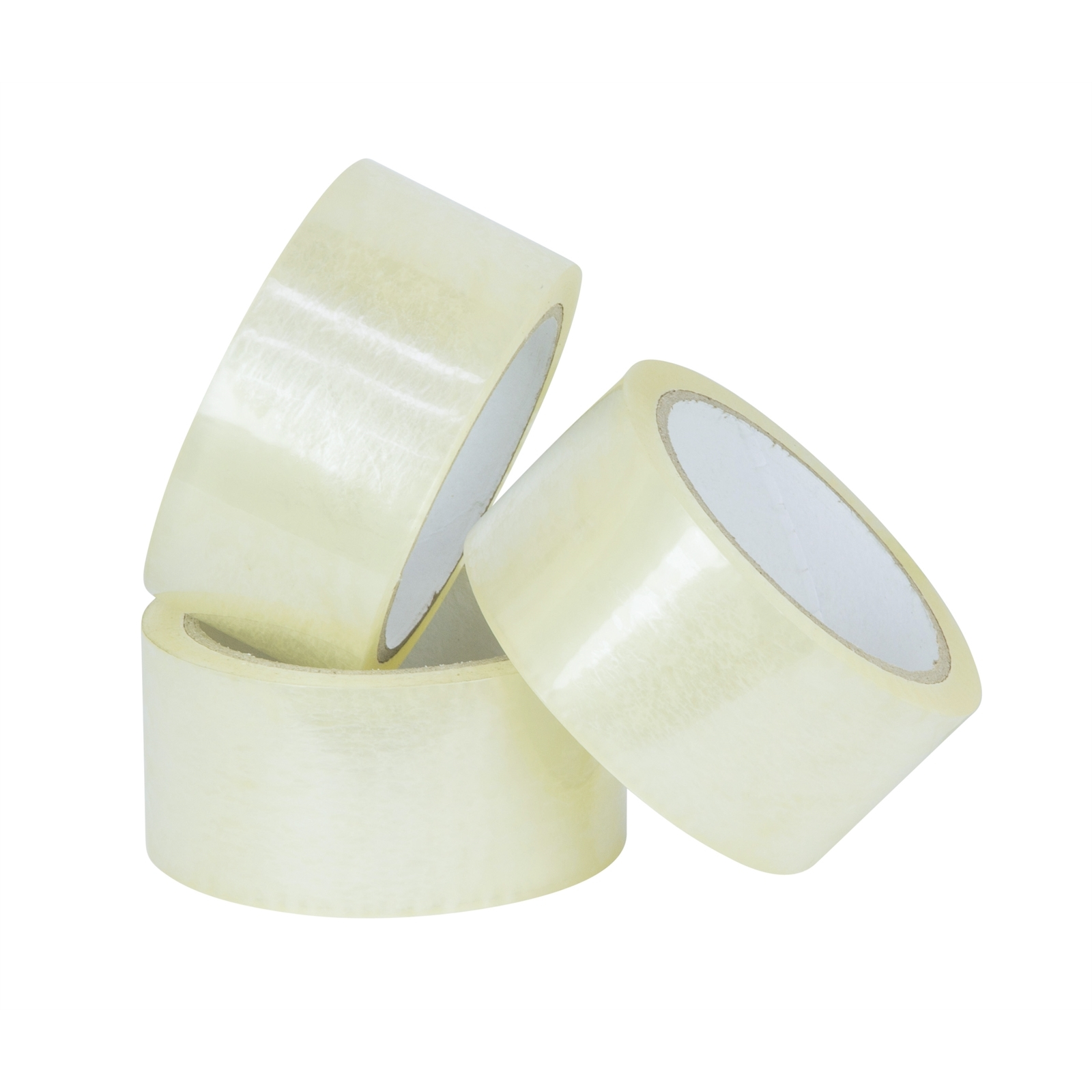 Wrap & Move 48mm x 50m Clear Heavy Duty Packing Tape  - 3 Pack