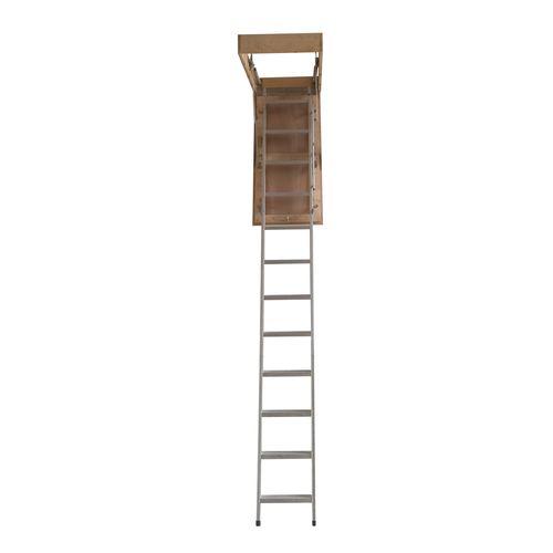 Rhino 2.1 - 3.05m Aluminium Attic Ladder