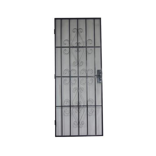 Bastion 2024 x 806mm Catalina Black Imperial Steel Frame Screen Door