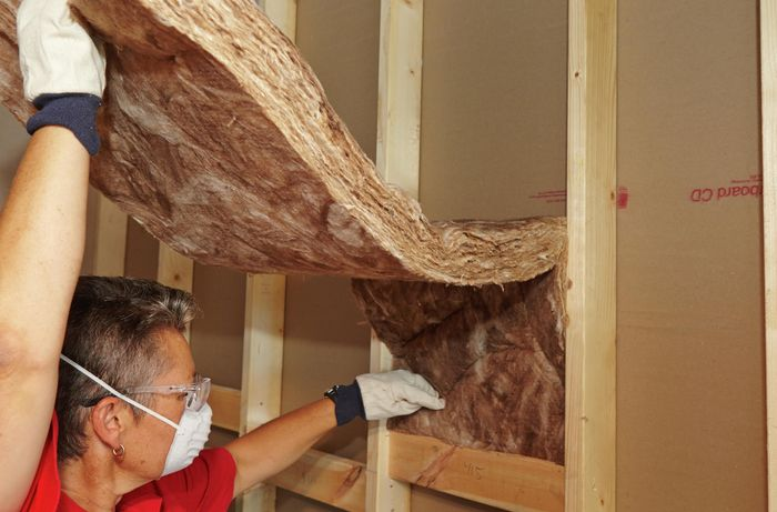 DIY Step Image - How to insulate walls . Blob storage upload.
