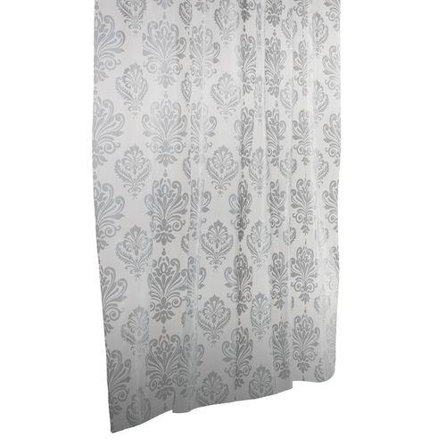 Barelli 180 x 180cm Fleur-De-Lis Peva Shower Curtain