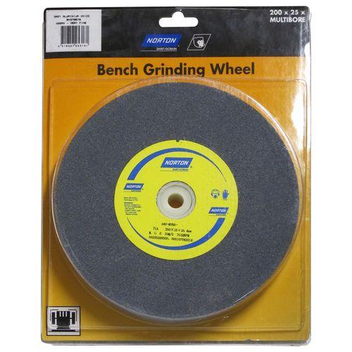 Norton 200 x 25 x 25.4mm Bench Grinding Wheel