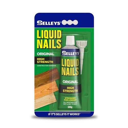 Selleys 100g Liquid Nails Construction Adhesive