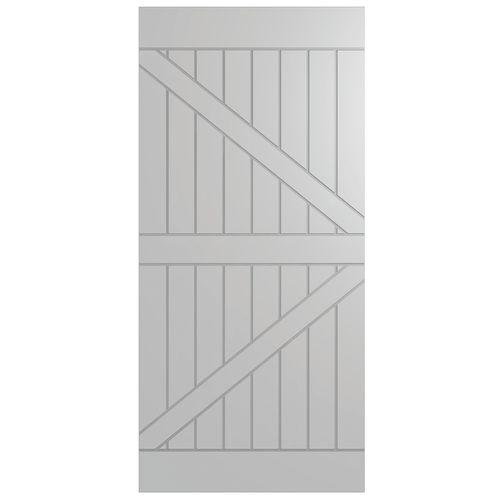 Hume 2150 x 1000 x 35mm Frontier Internal Barn Door