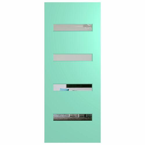 Hume 2040 x 40mm Newington G1 Clear Glass External Door - 870mm x 2040mm x 40mm