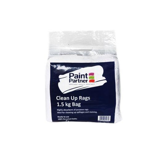 White Rags Paint Partner 1.5kg White Rags