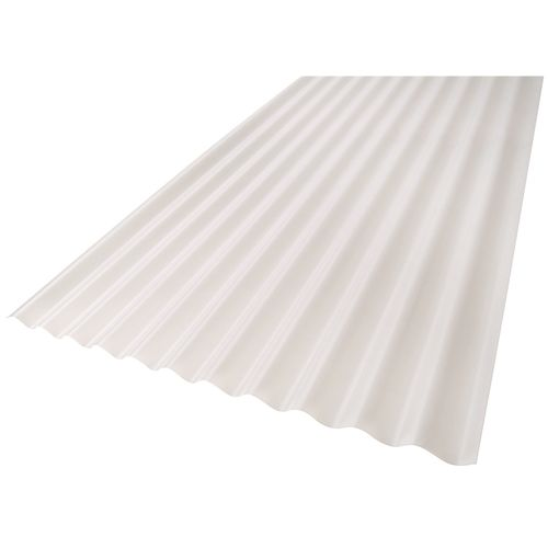 Suntuf 860 x 17mm x 3m Opal Corrugated Polycarbonate Roofing