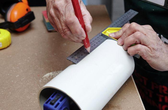 DIY Step Image - D.I.Y. drill station . Blob storage upload.