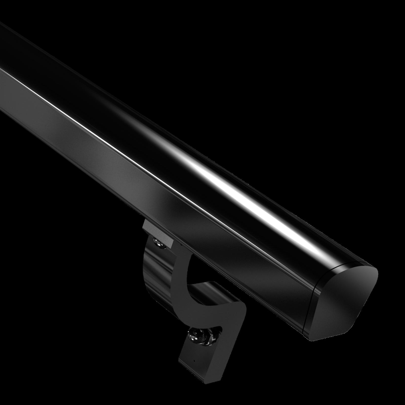 Peak Products 1800mm Black Aluminium Modular Handrail Kit
