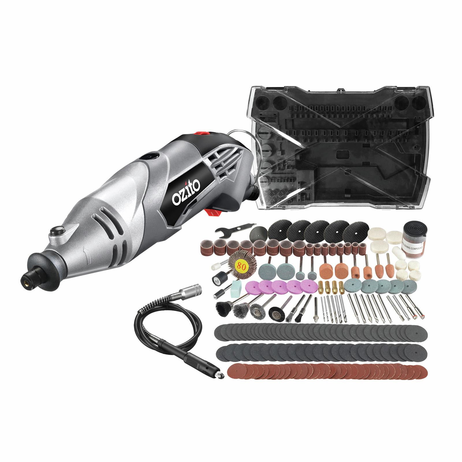 Ozito 170W Rotary Tool Kit
