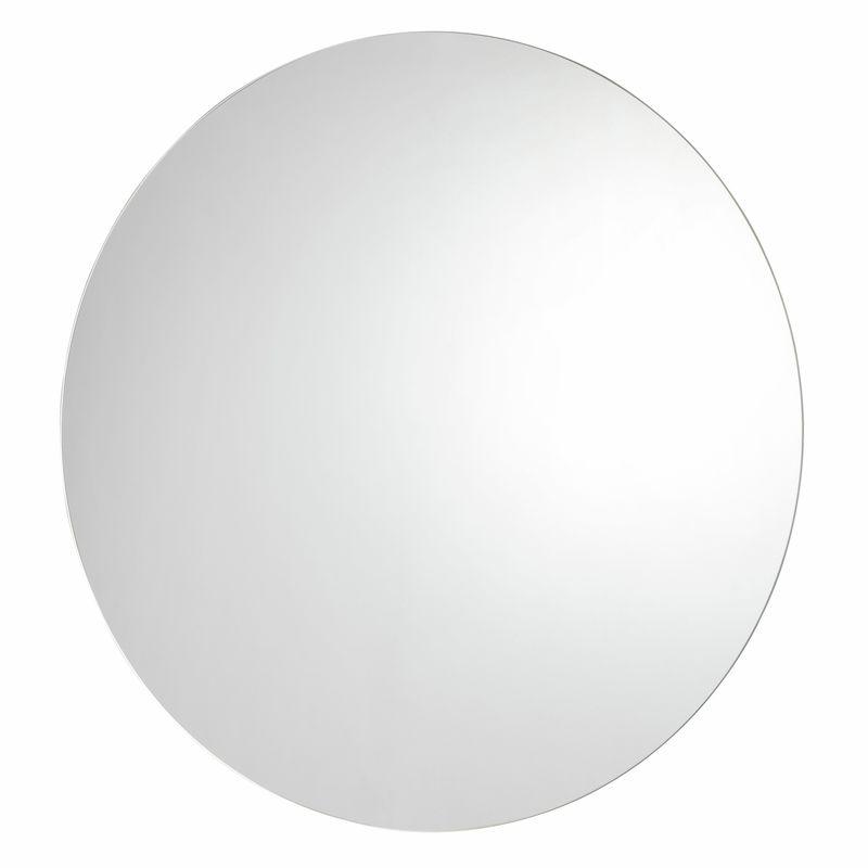 Signature 800mm Silver LED Round Mirror
