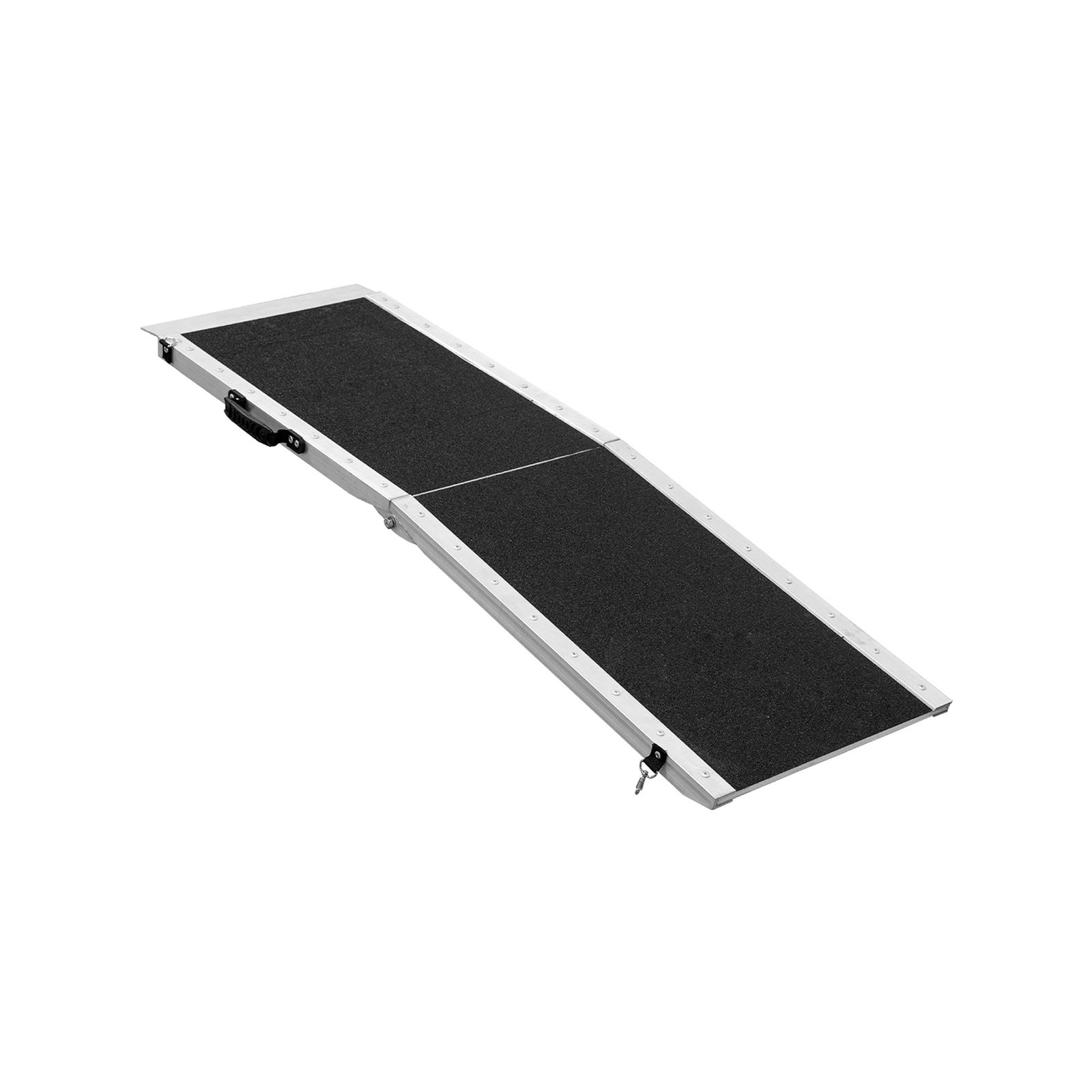 Wallaroo 122 x 38cm Foldable Aluminium Dog Ramp