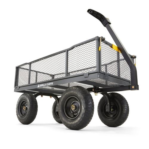 Gorilla Carts 170L Steel Mesh Cart