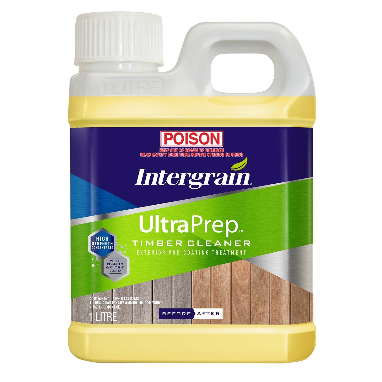 Intergrain 1L UltraPrep Timber Cleaner