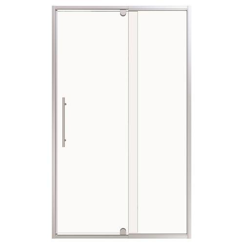 Stein 1200 x 2000mm Chrome Georgia Square Shower Door