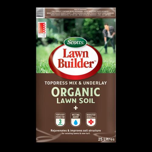 Scotts Lawn Builder 25L Organic Lawn Soil Topdress & Underlay