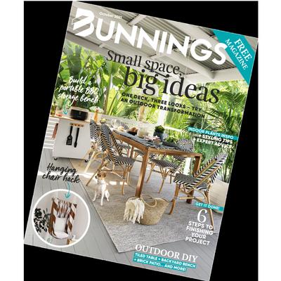 Bunnings magazine October 2021 cover