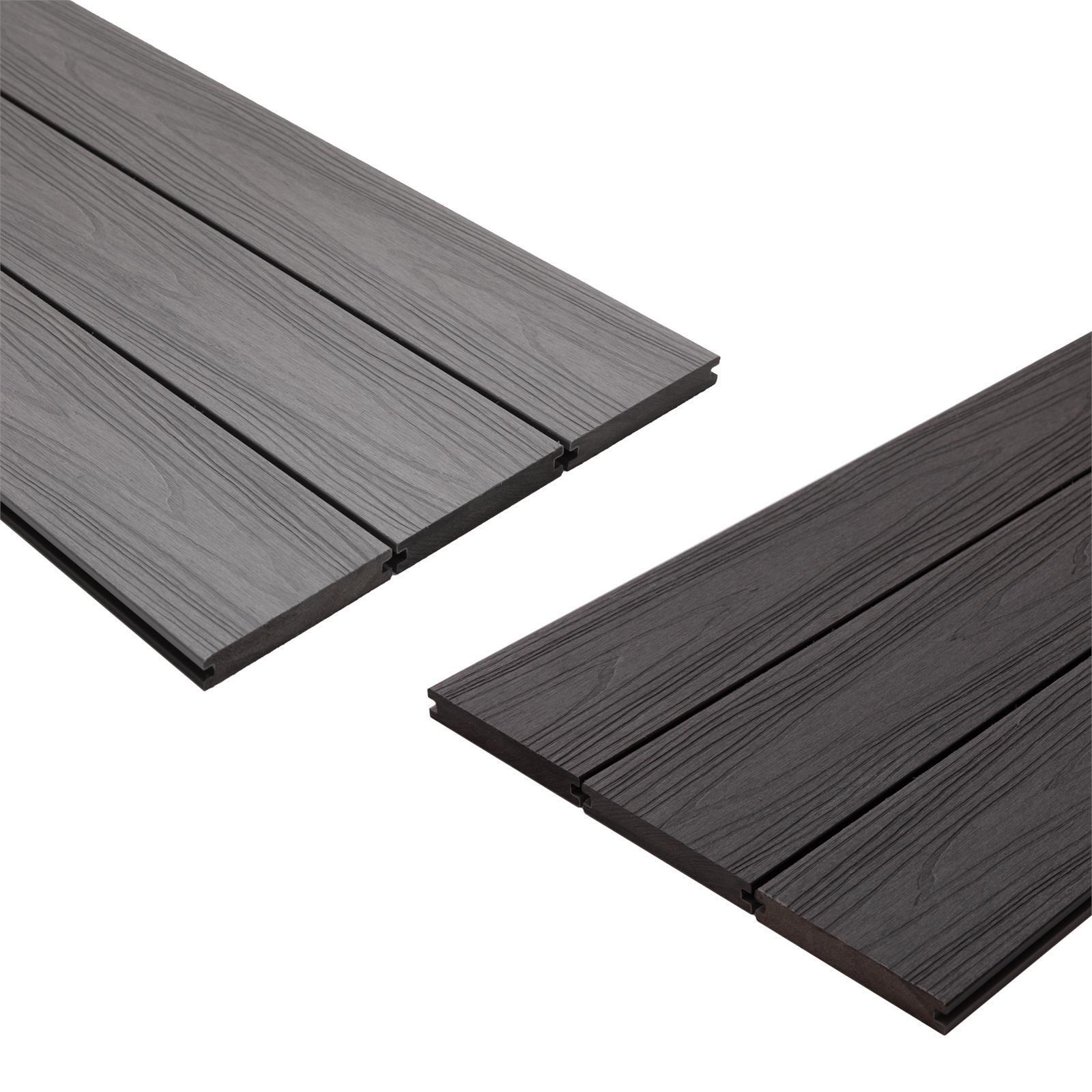 Ekodeck 137 x 23 x 5400mm Alpine Ash / Ironwood Plus Designer Series Composite Decking