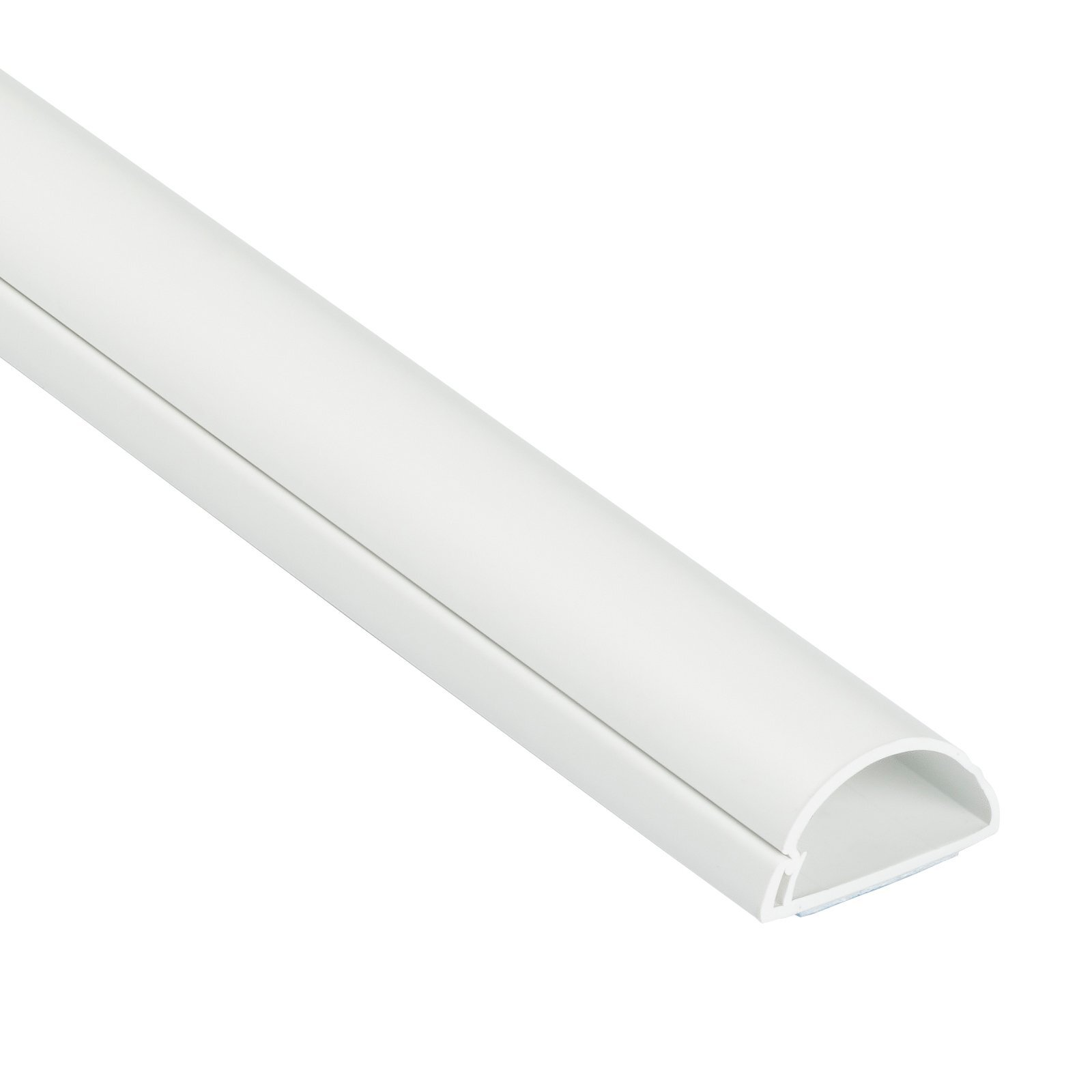 D-Line 30 x 15mm 2m White Adhesive Cable Management Cover
