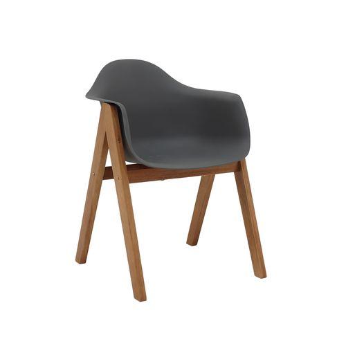 Hartman Delta Timber Dining Chair - Grey