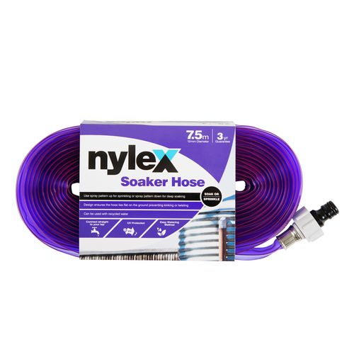Nylex 7.5m Recycled Water Soaker Hose