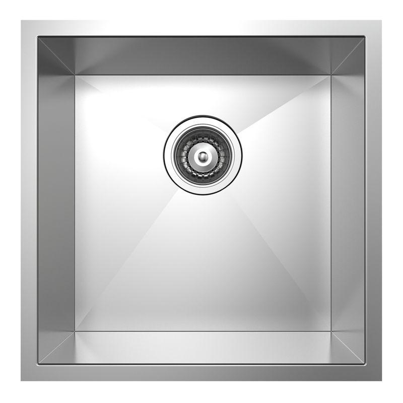 Rococo Square Single Bowl Sink