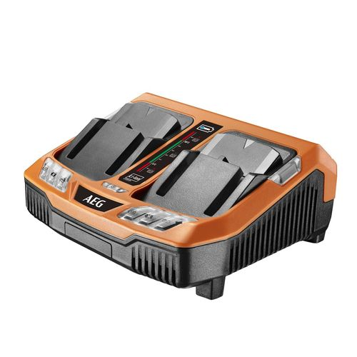 AEG 18V Sequential Dual Port Charger