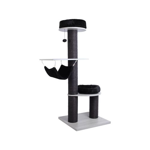 Charlie's Pet UFO Cat Tree Tower with Nest and Hammock 59x59x151cm