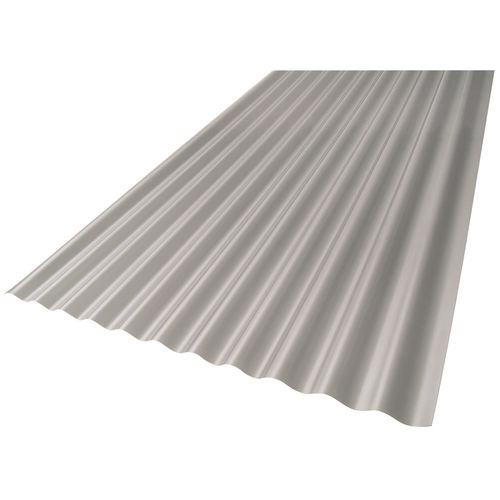 Suntuf 2.4m Diffused Grey SolarSmart Polycarbonate Roof Sheet