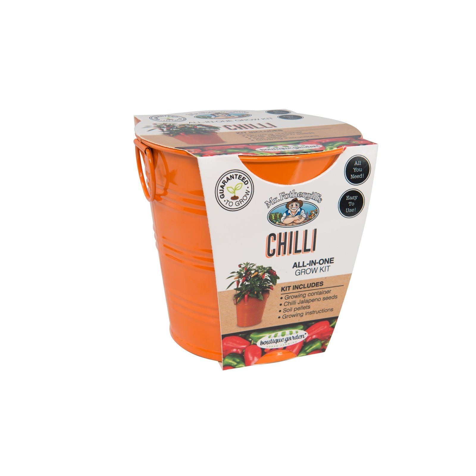 Mr Fothergill's Boutique Gardens Chilli Grow Kit