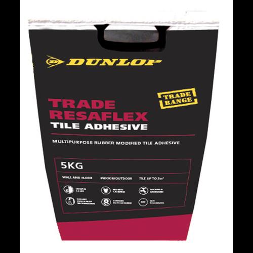 Dunlop 5kg Trade Resaflex Tile Adhesive