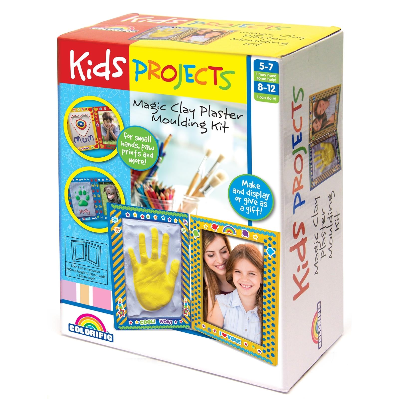 Kids Projects Plaster Handprint Kit